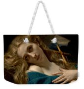 Mary Magdalene In The Cave Weekender Tote Bag