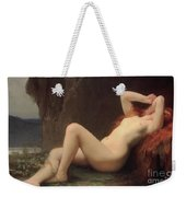 Mary Magdalene In The Cave Weekender Tote Bag by Jules Joseph Lefebvre