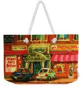 Mary Seltzer Dress Shop Weekender Tote Bag