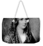Mary Shelley, English Author Weekender Tote Bag