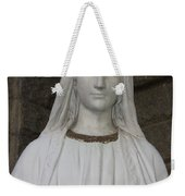 Mary Statue At Sacred Heart In Tampa Weekender Tote Bag