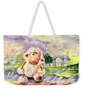 Mary The Scottish Sheep Weekender Tote Bag