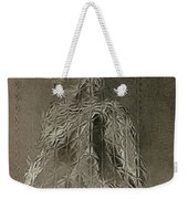 Mary Through The Looking Glass Weekender Tote Bag