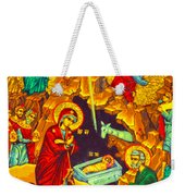 Mary Well Nativity Weekender Tote Bag