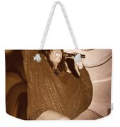 Mary Wilson Of The Supremes... Weekender Tote Bag