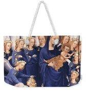 Mary With Baby Jesus Weekender Tote Bag