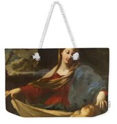 Mary With Child 1635 Weekender Tote Bag