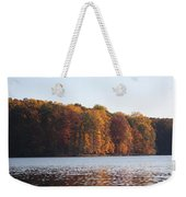 Maryland Autumns - Clopper Lake - Fall Bloom Weekender Tote Bag
