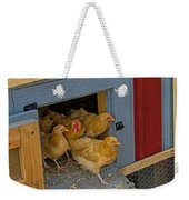 Aunt Mary's Chickens Weekender Tote Bag