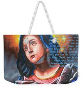 Mary's Message Weekender Tote Bag