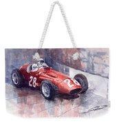 Maserati 250 F Gp Monaco 1956 Stirling Moss Weekender Tote Bag