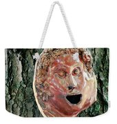 Mask Attached To Trunk 2 Weekender Tote Bag