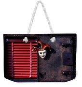 Mask By Window Weekender Tote Bag
