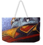 Mask Of The Raven Weekender Tote Bag
