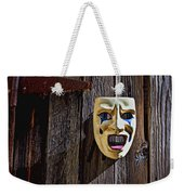 Mask On Barn Door Weekender Tote Bag
