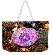 Mason's Purple Flower Weekender Tote Bag