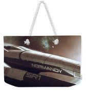 Mass Effect Normandy Space Planets Stars 15861 300x533 Weekender Tote Bag
