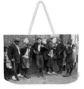 Massachusetts: Gang, C1916 Weekender Tote Bag