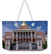 5- Massachusetts State House Eckfoto Boston Freedom Trail Weekender Tote Bag