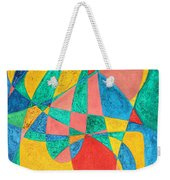 Massage In Abstract Word Art Weekender Tote Bag