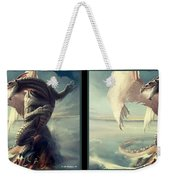 Massive Dragon - Gently Cross Your Eyes And Focus On The Middle Image Weekender Tote Bag