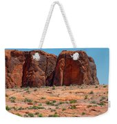 Massive Sandstone Cliffs Valley Of Fire Weekender Tote Bag