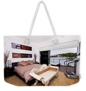 Master Bedroom With A View Weekender Tote Bag