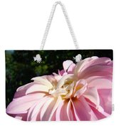 Master Gardener Pink Dahlia Flower Garden Art Prints Canvas Baslee Troutman Weekender Tote Bag