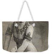 Mata Hari Sketch Weekender Tote Bag