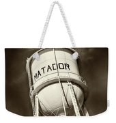 Matador Texas Water Tower Weekender Tote Bag