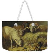 Maternal Solicitude By Arthur Fitzwilliam Tait Weekender Tote Bag