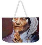 Mather Teresa Weekender Tote Bag