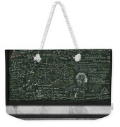 Maths Formula On Chalkboard Weekender Tote Bag