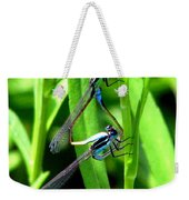 Mating Damselflies Weekender Tote Bag