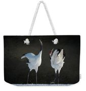 Mating Dance Weekender Tote Bag