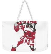 Matt Ryan Atlanta Falcons Pixel Art 5 Weekender Tote Bag