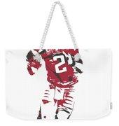 Matt Ryan Atlanta Falcons Pixel Art 6 Weekender Tote Bag