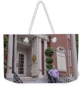 Matt V. Group At The Park Street Church In Boston, Massachusetts On August 26, 2016 Weekender Tote Bag