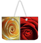 Matters Of The Heart - Diptych Weekender Tote Bag