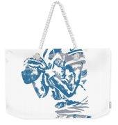 Matthew Stafford Detroit Lions Pixel Art 6 Weekender Tote Bag