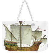 Matthew Weekender Tote Bag by The Collectioner