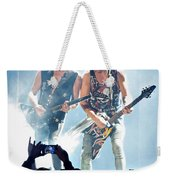 Matthias Jabs And Rudolf Schenker Shredding Weekender Tote Bag