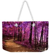 Matthiessen State Park Trail False Color Infrared No 2 Weekender Tote Bag