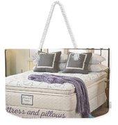 Mattress And Pillows Weekender Tote Bag