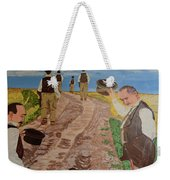 Maturity. Farewell To The Past. Waiting For Old Age. Weekender Tote Bag