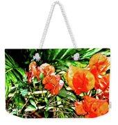 Maui Floral Weekender Tote Bag