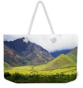 Maui Mountains Weekender Tote Bag