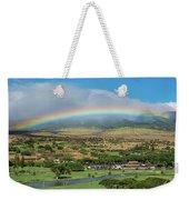 Maui Rainbow Weekender Tote Bag