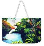 Maui Seven Sacred Falls #184 Weekender Tote Bag