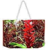 Maui Tropical Floral Weekender Tote Bag